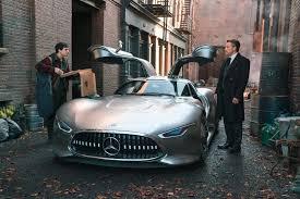 Batman and Wonder <b>Woman</b> Drive <b>Mercedes</b>-<b>Benz</b>