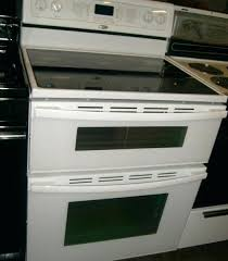 estate stove excellent glass top double oven range in whirlpool glass top stove attractive estate stove