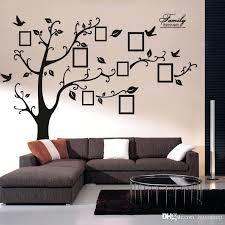large chalkboard wall decal elegant size black family photo frames tree stickers sticker bla