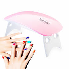 <b>Portable</b> Folding Nail Dryer Light with Timer Setting Curing Gel Nail ...