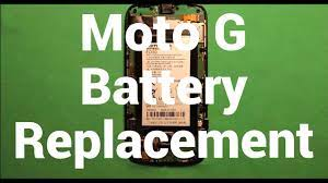 Motorola Moto G Battery Replacement - YouTube