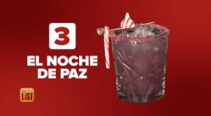 our last mexican l is el noche de paz meaning the peaceful night it uses all of those old clic mexican cans as a gl rim