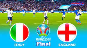 PES 2021 - Italy vs England - Final ...