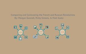 French And Russian Revolution Venn Diagram French And Russian Revolution Compare And Contrast Project