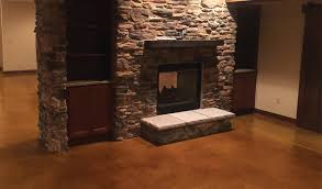 stained concrete floor basement. Fine Stained Durable Stained Concrete Floors Throughout Floor Basement