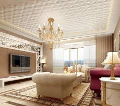 ... Patterned Ceiling Design Pleasurable Ideas For Living Room ... Great Ideas