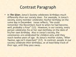 compare and contrast essay the giver essay writing