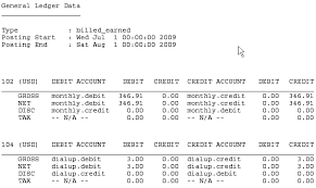 Ledger Example About Collecting General Ledger Data
