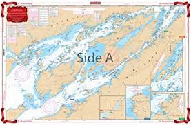 Calabogie Lake Depth Chart Waterproof Charts Standard Navigation 78 The Thousand Islands