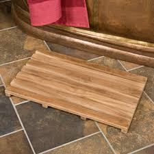 bathroom bathroom best teak bath mat new home design to make wood mats bathroom