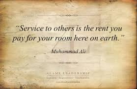 Quotes About Service To Others Adorable AL Inspiring Quote On Service To Others Alame Leadership