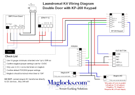 wiring diagram for power door locks the wiring diagram complete double door laundromat magnetic lock kit keypad by wiring diagram