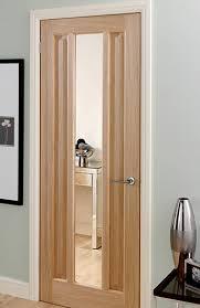 kilburn oak pre glazed interior door