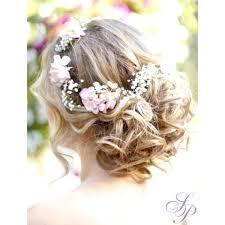 Fleurs Dans Les Cheveux Pour Mariage Dans Rajout Cheveux