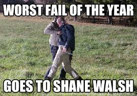 Worst fail of the year Goes to Shane Walsh - freinds walking dead ... via Relatably.com