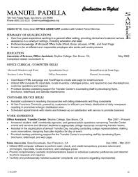 Resume Combined Resume Examples