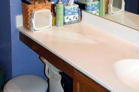 image of how to clean cultured marble countertops