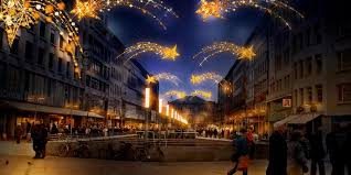 Hannovers Innenstadt Lässt Tausende Lichter Leuchten.