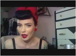 1950s hair and makeup tutorial wonderfully 1950 s modern pinup hair tutorial micheline pitt pt 2