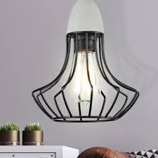 Hänge Pendel Leuchte Decken Lampe Retro Vintage Industrie