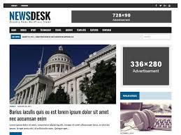 Wordpress Template Newspaper Mh Newsdesk Dynamic News Wordpress Theme
