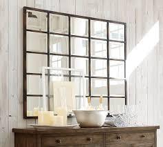 eagan large multipanel wall mirror