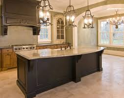 custom wood kitchen island with granite slab counter custom ideas95 island