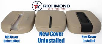 2007 2016 chevy avalanche lt ltz ls z71 z66 center console lid cover tan