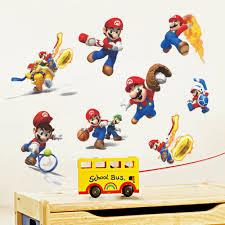 cartoons super mario wall stickers