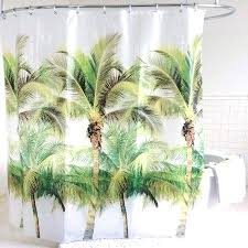 palm tree shower curtain palm tree shower curtain inch green palm tree shower curtain sets