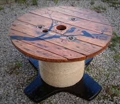 Introduction: Cable Reel/Drum Table With Custom Design