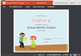 Making A Certificate Certificate Of Award Template For Students