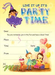 Boy Birthday Party Invitation Template Printable Birthday
