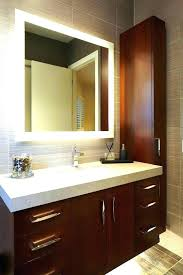 Illuminated cabinets modern bathroom mirrors Bathroom Wall Full Size Of Light Bathroom Mirror With Shaver Socket Lighted Cabinet Mirrors Bathrooms Modern For Design Uver Led Illuminated Bathroom Mirror With Shaver Socket Non Mirrors