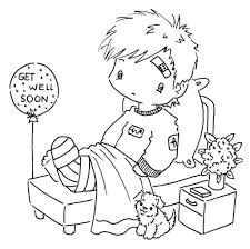 Small Picture Feel Better Cards Coloring SheetsBetterPrintable Coloring Pages
