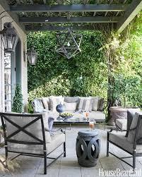 restoration hardware outdoor furniture. Gray And White Patio With Pergola Restoration Hardware Outdoor Furniture