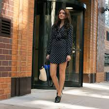 black and white split fit and flare dress work heels work work shoes office heels office shoes work outfit office outfit office wear work wear comfortable heels quiet heels work style