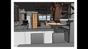 Kitchen Modeling Revit Kitchen Designwalkthrough By Tummanan Chaitripob Youtube