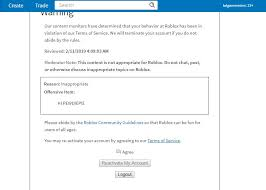How To Create Items In Roblox Roblox Users Face Account Termination For Mentioning