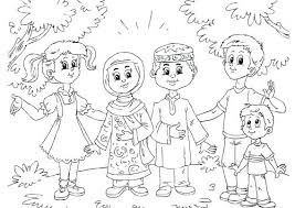 Muslim Coloring Pages Muslim Coloring Pages Printable Free Art And