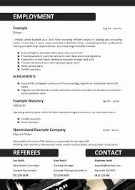 Resume Format For Driver Best Of Simplistic Resume Template Best Of