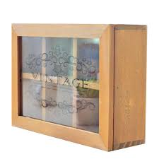Large Wooden Boxes To Decorate Antique Stand wooden box Glass Cover Large Wooden Storage Cabinet 38