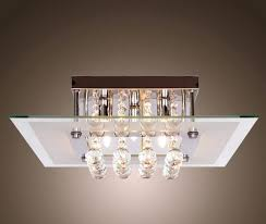 square flush mount ceiling light fixtures supplies crystal drop lights fixture chandelier with 5