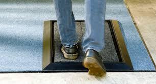 Shoe Rug Sanistridear Shoe Sanitizing Stride Mat Demonstration Youtube