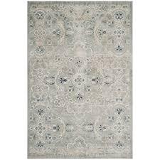 safavieh persian garden gray blue 8 ft x 11 ft area rug