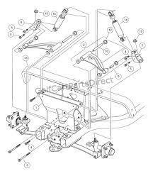 2004 2007 club car precedent gas or electric club car parts 2006 Club Car Wiring Diagram front suspension upper 2006 club car wiring diagram 48 volt