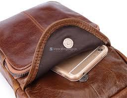 mens leather sling bag sling bag