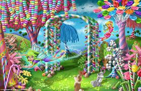 candy garden. Candy Garden Illustration By Malane Newman Y