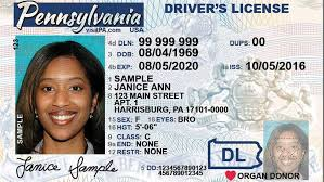 Licenses Driver In Phase Penndot Cards Identification Newly-designed To