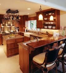 Tropical Kitchen Design Simple Decoration